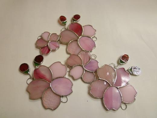 ステンドグラスの桜